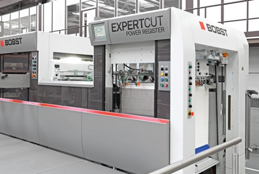 Bobst Diecutter with Blanker